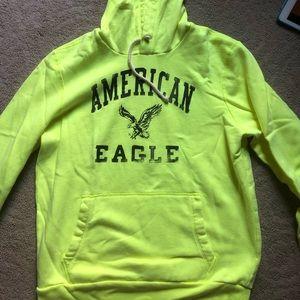 American Eagle Neon Hoodie